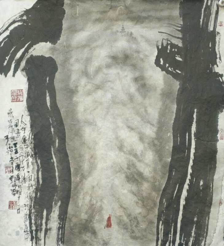 书画家刘师哲参加统战部新阶层红旗渠精神学习并写生交流