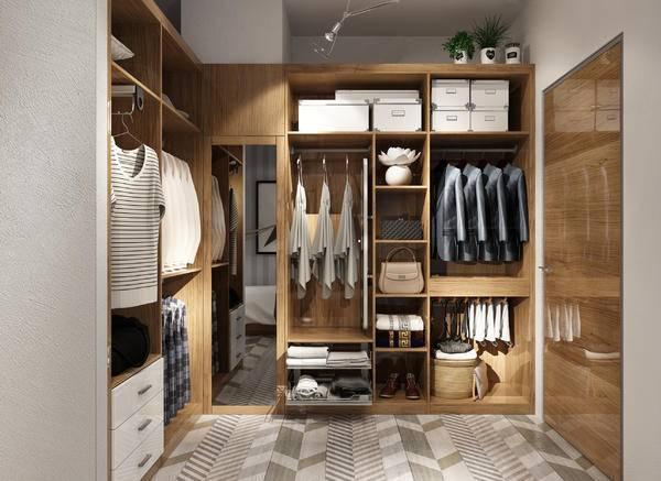 您还可以引入一些熨烫架,倾斜式鞋架,岛柜台等,让原本的衣帽间瞬间