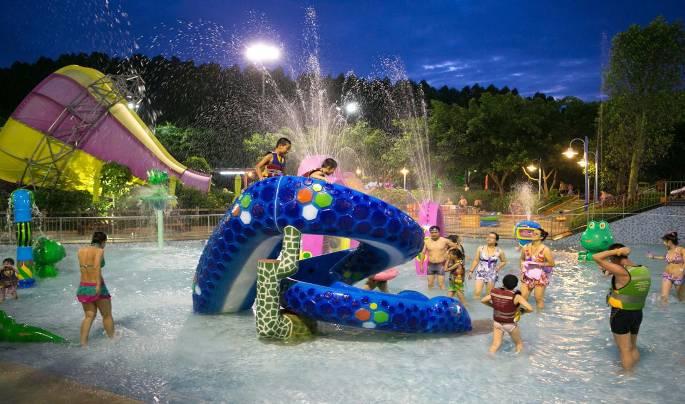 时间:8月10日-18晚7-10点   2 自贡梦幻海螺湾恐龙水世界    时间