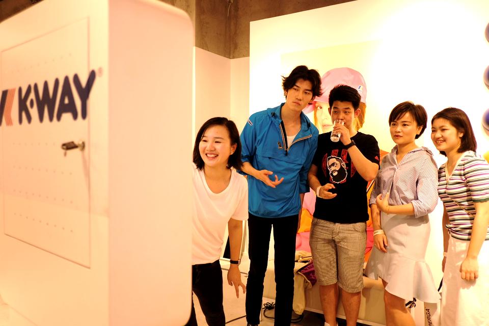 K-Way上海快闪店盛大开幕 现场趣致精彩纷呈