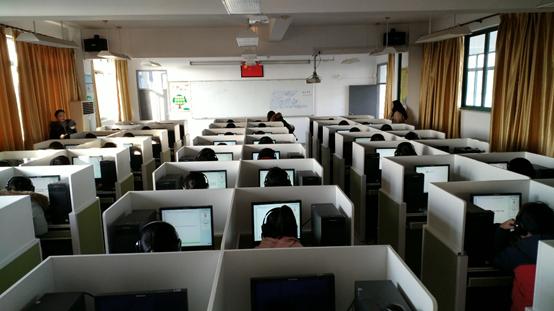 朗鹰教育围绕崇明区七年级英语听说能力测评工作做好服务保障