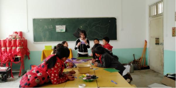 积小善成大爱|给乡村孩子一个七彩课堂-焦点中国网