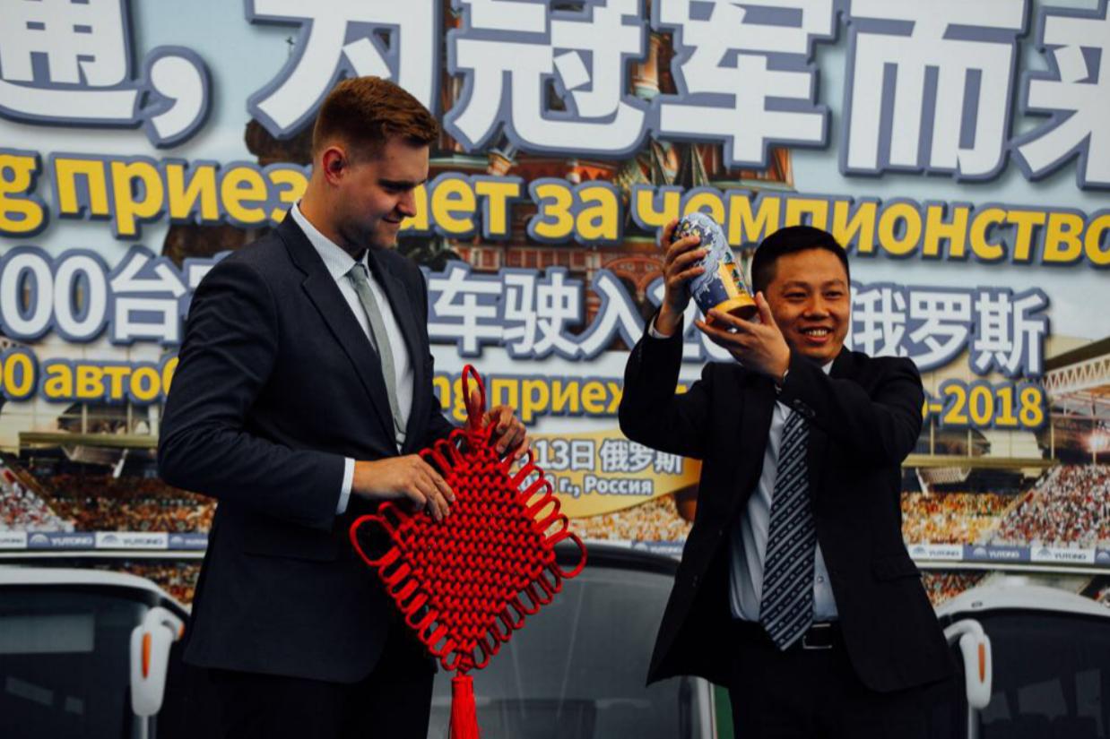 冠军而来!宇通客车俄罗斯服务明星球队,承运世界球迷-焦点中国网