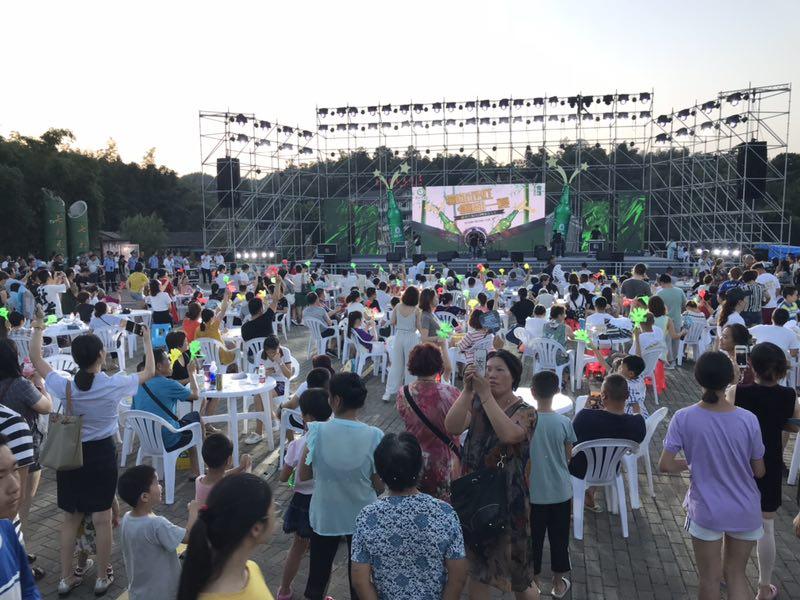 蜀南竹海啤酒音乐节,人气火爆,嗨翻一夏!