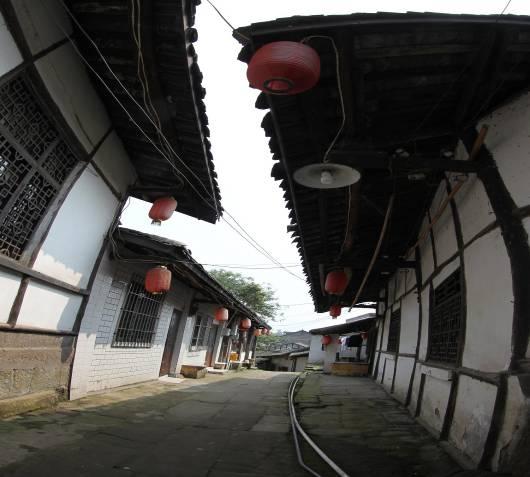 艾叶古镇传统街巷横街